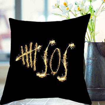 "5 seconds of summer, 5sos pillow case # 18"" x 18"" , 16"" x 24"" , 20"" x 30"""