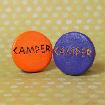 Percy Jackson Inspired, Camp Half-Blood & Camp Jupiter Camper Pin Back Button Percy Jackson the Olympians Heros of Olympus Pinback Button