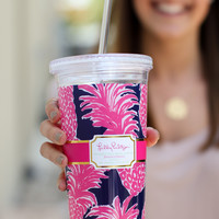 Lilly Pulitzer Reusable Cold Drink Tumbler - Flamenco