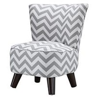 Kids Chairs: Grey Chevron Mini Chair in All Kid Seating | The Land of Nod