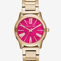 Hartman Gold-Tone Watch | Michael Kors