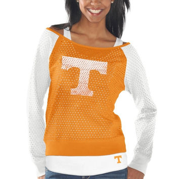 Tennessee Volunteers Women's Holy Sweatshirt - Tennessee Orange/White