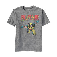 Wolverine X-Men From Above Youth T-Shirt
