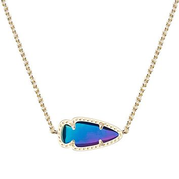 Skylie Pendant Necklace in Black Iridescent - Kendra Scott Jewelry