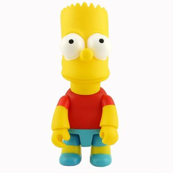 New arrival The Simpsons Toys Model QEE Bart Doll Simpsons Figurine PVC Figure toys 28cm