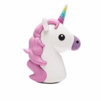 Kawaii Unicorn Emoji Portable Powerbank Charger for IOS & Android Phones