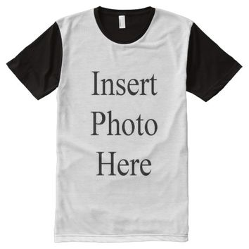 Design Your Own Custom Photo All Over Print Shirt