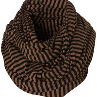 Camel Stripe Snood - Scarves  - Accessories  - Topshop