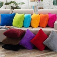 BZ024 Creative Lumbar Pillow Solid wistiti without inner decorative throw pillows chair seat home decor home textile gift