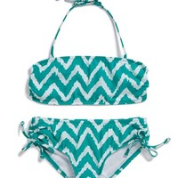 Milly Minis Zigzag Two-Piece Swimsuit