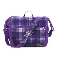 JanSport Elefunk Printed Backpack, Purple Night Preston Plaid