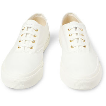 Maison Kitsuné Canvas Sneakers | MR PORTER
