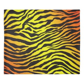 Tiger Stripes Duvet Cover