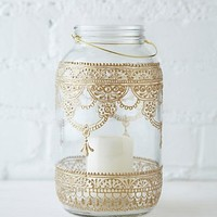 Free People 64 oz. Mason Jar Lantern