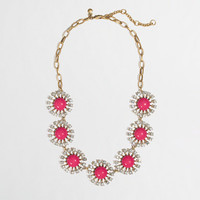 Factory crystal stoneburst necklace - Necklaces - FactoryWomen's Jewelry - J.Crew Factory