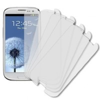 Samsung Galaxy S3 Mini Screen Protector, Ultra Clear 5-Pack - MPERO