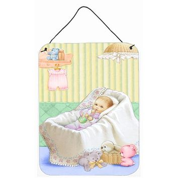 New Baby in Crib Wall or Door Hanging Prints APH7093DS1216
