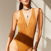 Out From Under Stella Strappy Bodysuit   Urban Outfitters