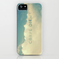 Carpe Diem iPhone & iPod Case by hyakume