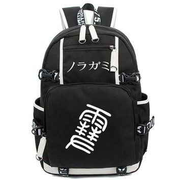 Japanese Anime Bag New Comic And Animation Backpack  Noragami Aragoto Yato Canvas schoolbag Teenage Girl Backpacks women men travel bag AT_59_4