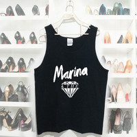Marina and the diamond tank top Women and Men Tanktop