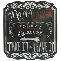 Mom's Kitchen Chalkboard Sign | Shop Hobby Lobby