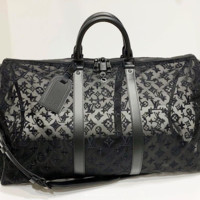 Louis Vuitton LV Women Laser Luggage Travel Bags Tote Handbag