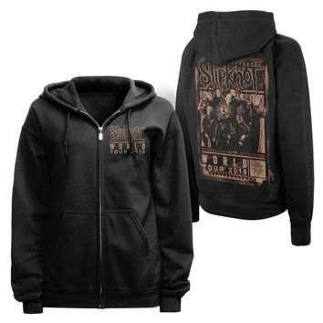 BLURRED WORLD TOUR ZIP HOODIE