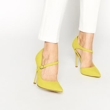 ASOS PALM VIEW Wide Fit High Heels