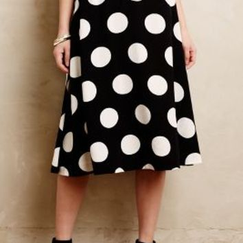 Deco Dot Midi Skirt by