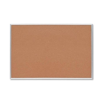 "Sparco Products Cork Board, 1/2"" Thick, 3'x2', Aluminum Frame"