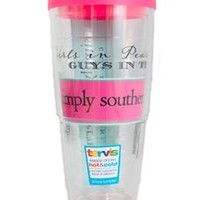 Simply Southern Preppy Tervis 24 oz Tumbler in Pearls and Bowties
