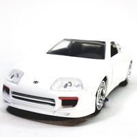 Jada Fast & The Furious Brian's White Toyota Supra Hardtop 1/32 Scale Diecast Car