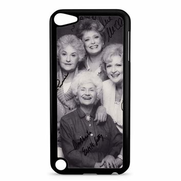 The Golden Girl Black Sign iPod Touch 5 Case