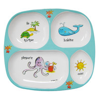 Ocean Animals Baby Dinnerware 4 pcs