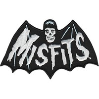 Misfits Iron-On Patch Bat Fiend Logo