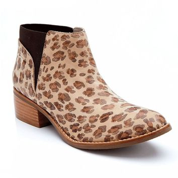 Matisse Ready Or Not Leopard Ankle Booties