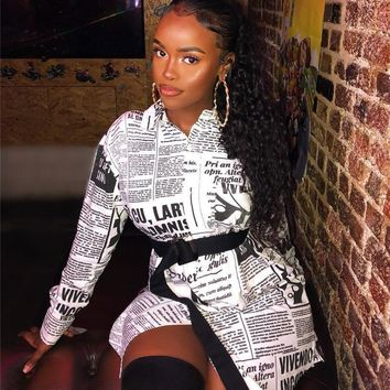 DAILY NEWS IS HERE DRESS