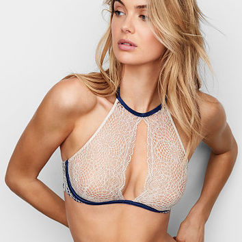 Crochet Lace Unlined High-neck Bra - Very Sexy - Victoria's Secret
