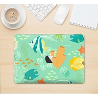 "The Colorful Bright Saltwater Fish Skin Kit for the 12"" Apple MacBook"