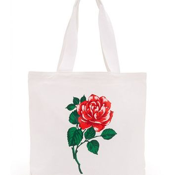 Will You Accept This Rose? Canvas Tote Bag