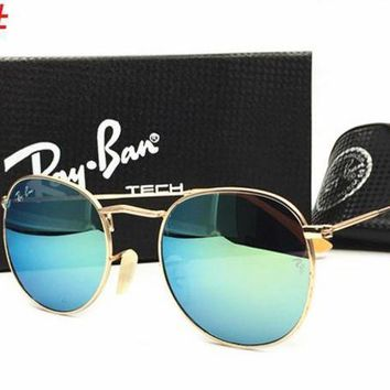 Ray Ban Fashion Ladies Men Delicate Summer Sun Shades Eyeglasses Glasses Sunglasses Lake Blue I-MYJ-YF