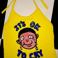 SWEET LORD O'MIGHTY! ITS OK TO CRY HALTER