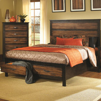 Coaster 202300Q Conway Brown Queen Bed With Storage Drawers