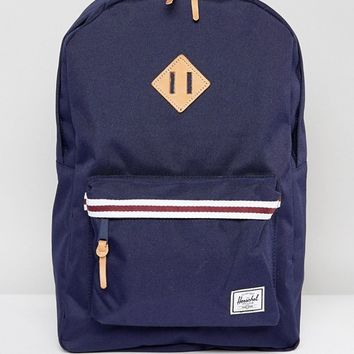 Herschel Supply Co Heritage Backpack in Peacoat at asos.com