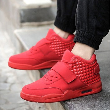 Men's Casual High Top Sneakers Hip Hop Style Cool Shoes [8833999244]