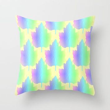 Pastel Nature Throw Pillow by Sartoris ART
