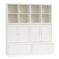 Cameron Small Space with Drawer Bases Storage Wall System