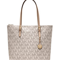 MICHAEL Michael Kors Large Jet Set Top-Zip Tote