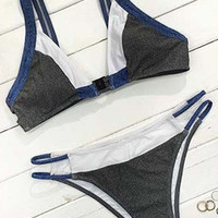 Cupshe Young Hearts Sport Bikini Set